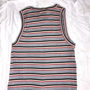 Lucky Brand Tops - Lucky Brand Twist Front Rib Tank Top Size Large